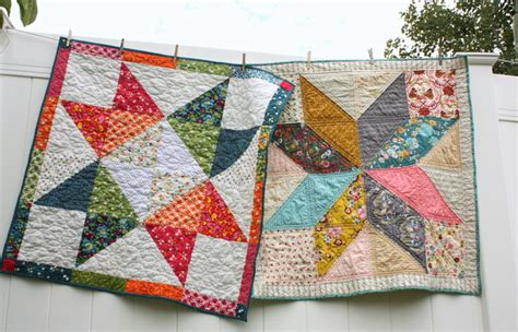 easy diy modern baby quilt tutorial