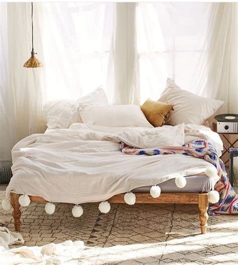 home decor bed sheets home accessory bedding bedroom home decor pom poms