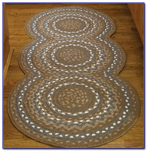 kitchen braided rugs country rug runners rugs ideas