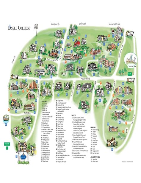 The Barn Lasell College New Campus Map By Lasell College Issuu