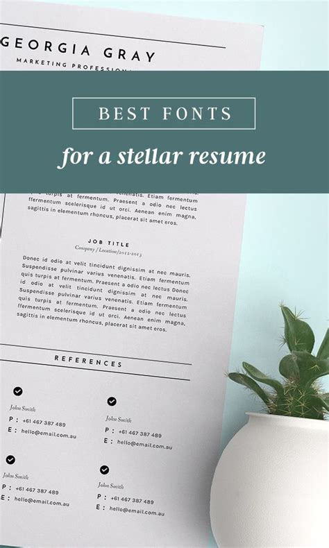 Best Creative Resume Fonts by Best 25 Best Fonts Ideas On Silhouette Fonts