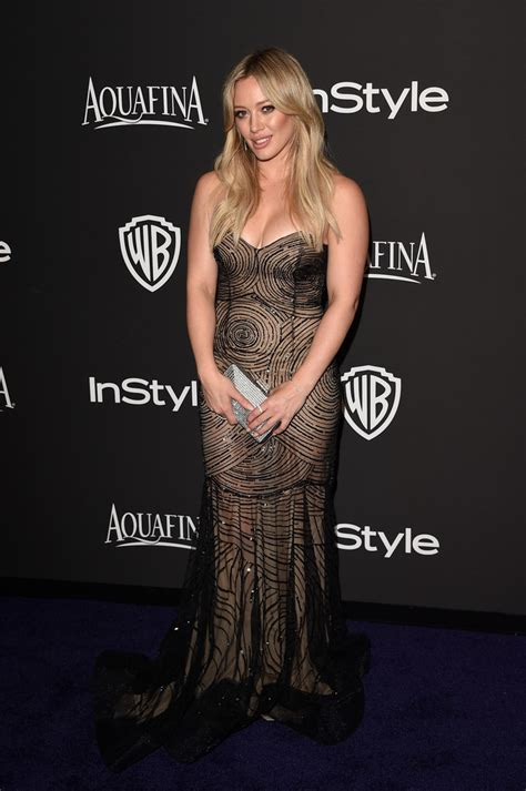 Longdress Alissa hilary duff the best and worst golden globes afterparty