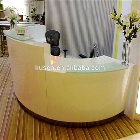 curved reception desk for sale sale high evaluation reception office furniture modern