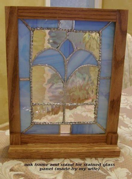 s day framed stained glass panel by sawtooth1953