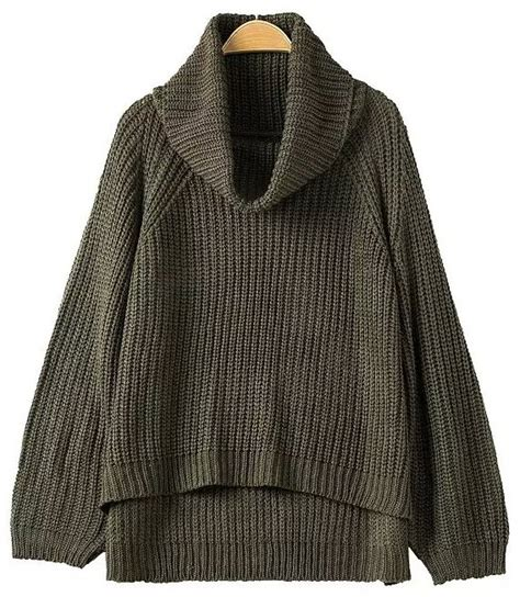 16689 Brown Turtle Neck Sweater knit turtle neck sweater and brown sweater tunic