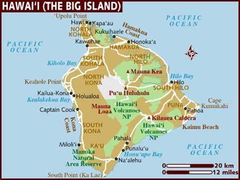 map of hawaiian islands and usa hawaii map