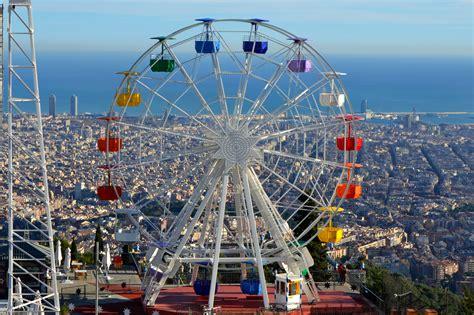 theme park in barcelona tibidabo amusement park