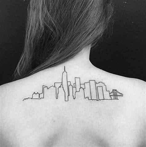 minimalist tattoo artists nyc minimalistic new york skyline tattoo venice tattoo art