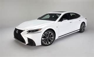 Ls500 Lexus 2018 Lexus Ls 500 F Sport Debuts In Nyc The Torque Report
