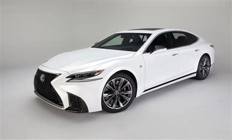 lexus new 2018 2018 lexus ls 500 f sport debuts in nyc the torque report
