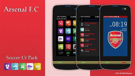 nokia asha 311 love themes arsenal f c theme asha 311 full touch 240x400 asha 305