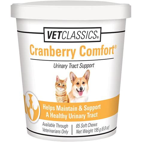 cranberry comfort cranberry comfort for dogs cats 65 soft chews