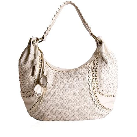 Fiore Woven Purse by Fiore Leather Woven Shoulder Handbag