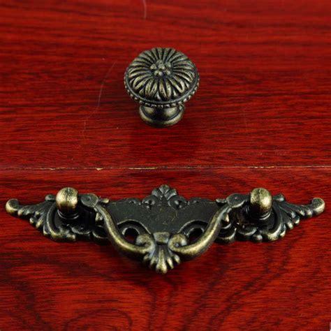 64mm dresser drawer pulls 64mm vintage drop rings furniture handles antique bronze