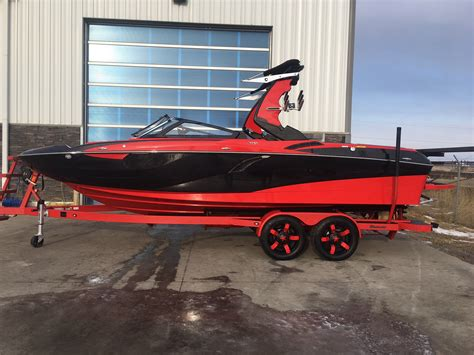 centurion boats fi 23 2018 2018 centurion fi23 blk metallic red wizard lake marine