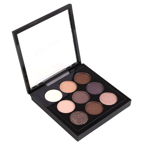 colorful eyeshadow palette earth 9 colors pigment eyeshadow palette cosmetic makeup