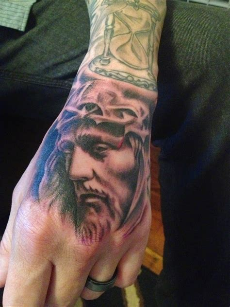 jesus tattoo using hand 35 jesus hand tattoo jere tattoo