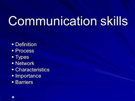 theme communication definition communication skills definition process types network