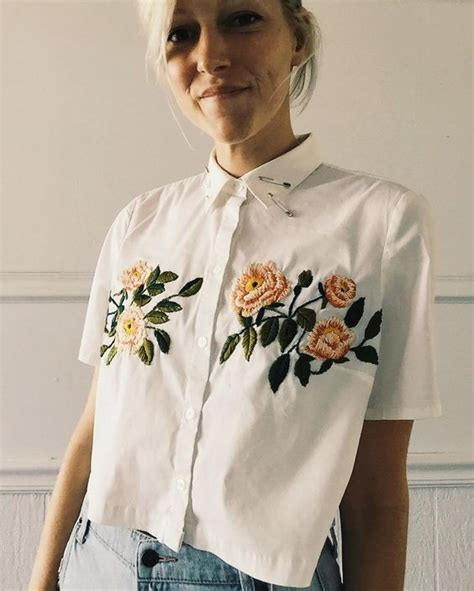 embroidery clothes 16 trendy embroidered items of clothing embroidery