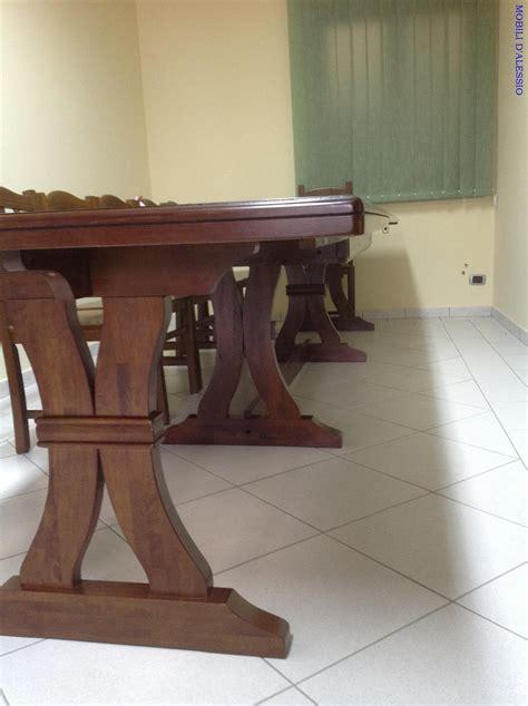 tavolo allungabile con sedie tavolo allungabile in legno massello con 8 sedie tavoli
