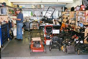 small engine repair shop submited images