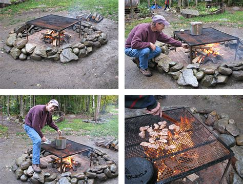 can you cook on a pit build an ark building a firebrick pit