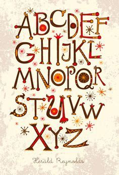 doodle combinations in alphabetical order ethnic bright vector alphabet graphic