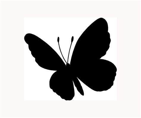 Sticker Wall Decals butterfly sticker car window vinyl decal laptop lucky