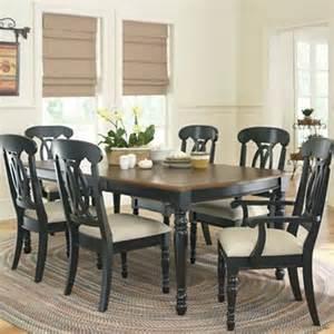 jcpenney kitchen furniture raleigh 7 pc dining set black
