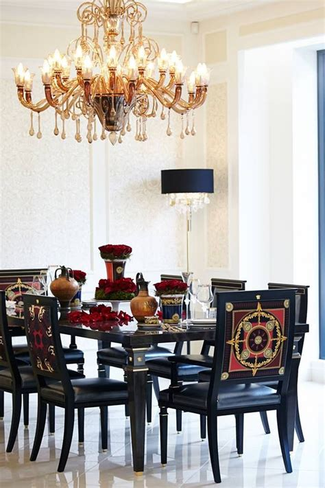 Versace Dining Table 17 Best Ideas About Versace Home On Luxury Furniture Steel Table And Chair
