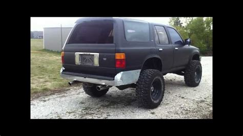 1991 Toyota 3 0 V6 1991 Toyota 4runner Dual Exhaust Piped 3 0 V6