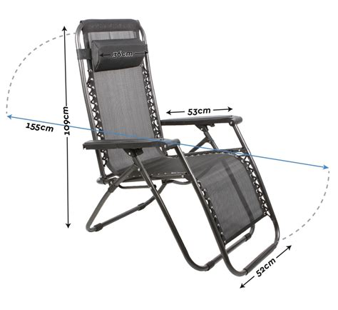 portable reclining beach chair 2 x zero gravity outdoor portable foldable reclining