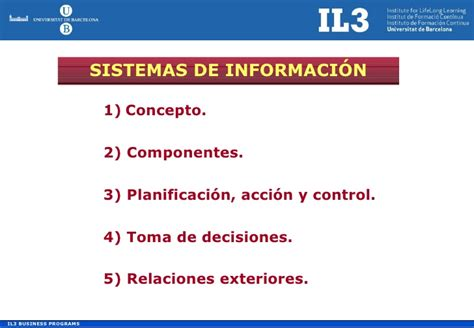 Ub Mba Programs by Ub Mba Sistemas De Informaci 243 N
