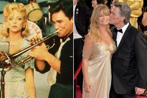 married swing kurt and goldie hawn couples who dated or
