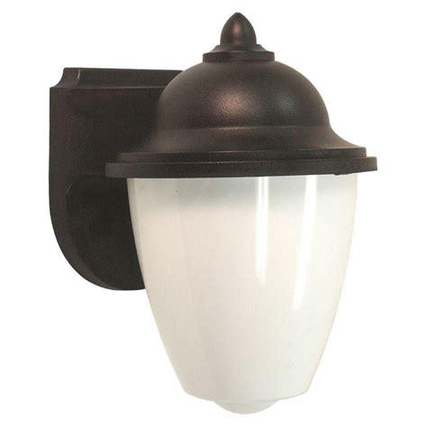 outdoor lighting fixtures home depot sea gull lighting yorktown 1 light forged iron outdoor