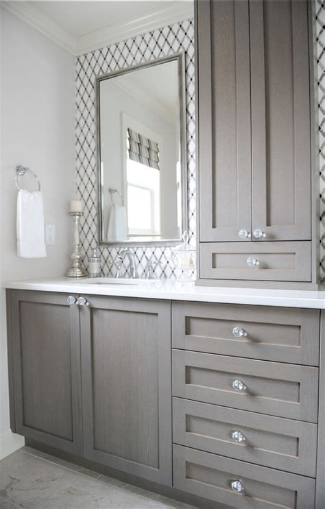bathroom cabinets designs the snowballing mirror dilemma view along the way