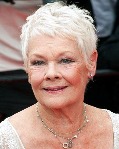 judith dench haircut gorgeous judi dench young old pinterest judi dench