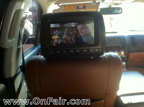 Toyota Headrest Dvd Headrest Dvd Player Install In 2008 Toyotal Tundra Crewmax