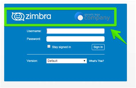 Zimbra Email Templates by Zimbra Cambiar Logo En Versi 243 N Open Source O Network