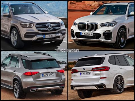 2020 Mercedes Gle Vs Bmw X5 by Photo Comparison 2019 Mercedes Gle Vs 2019 Bmw X5 G05