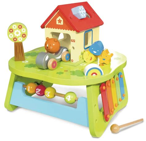 Activity Tables For Babies by Wooden Activity Table Baby M