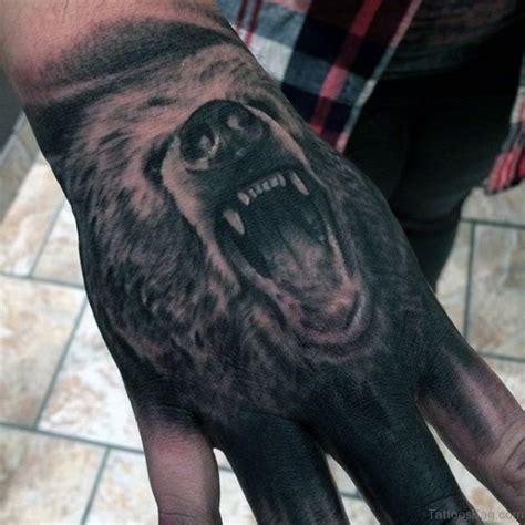 bear face tattoo 34 tattoos on