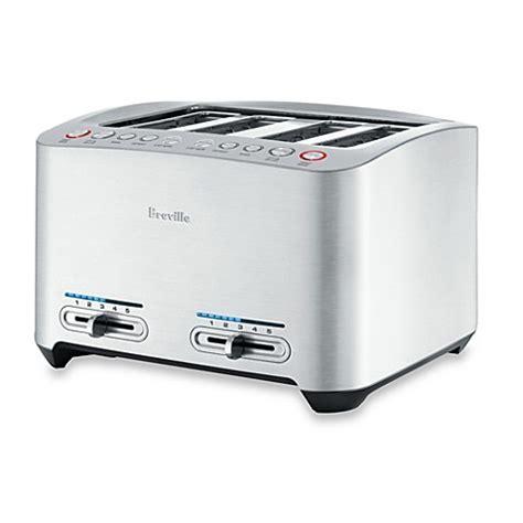 toaster bathtub breville 174 die cast 4 slice smart toaster bed bath beyond