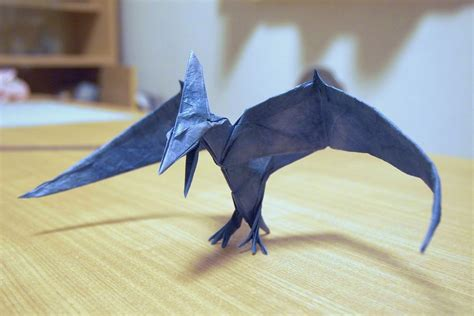 some of the best origami i ve seen in 65 million years