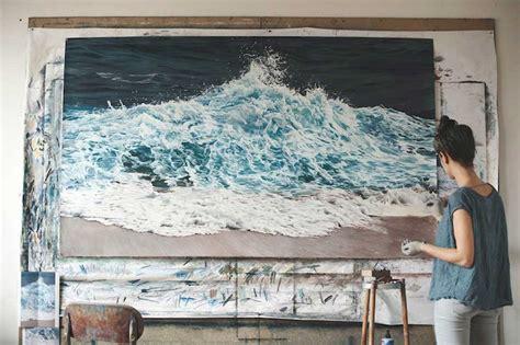 painting now asombrosas pinturas mar con lapiz pastel upsocl