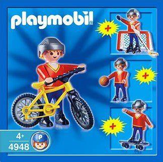 playmobil set 3341 a bel 13g sp 201 cial sports quot divers quot 3341 4948 set sport gar 231 on