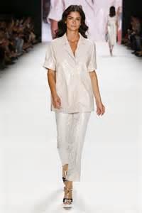 Mercedes Fashion Week Shermine Sharivar In Riani Show Mercedes Fashion