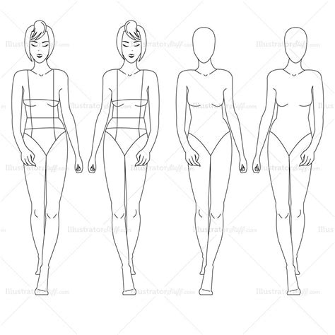 fashion illustration template book fashion croquis template illustrator stuff