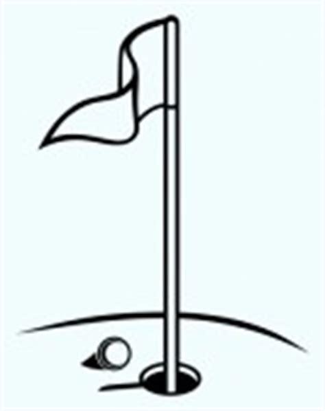 golf clipart black and white golf flag clip black and white clipart panda free