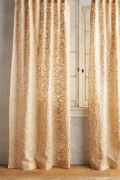 anthropologie curtains sale anthropologie limited curtain petalwood curtain buyma